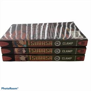 Tsubasa Reservoir Chronicle Books 1-3 Manga